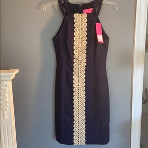 NWT! Navy blue Lilly Pulitzer dress